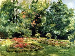 flower terrace in the garden wannsee