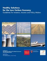 solutions for the low carbon economy