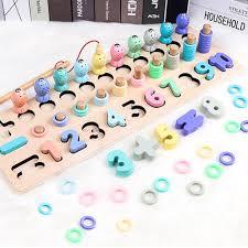 Bộ đồ chơi trí tuệ cho bé học chữ số tập đếm kèm bộ câu cá ( Đồ ...