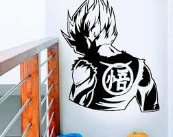 Goku Wall Decal Etsy