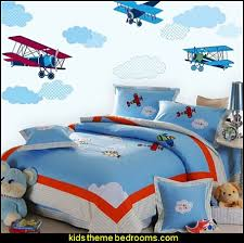 Airplane Bedroom Decorating Ideas Boys Aviation Bedrooms Kids Rooms Airplane Theme Beds Aviation Theme Kids Room Airplanes Theme Bedroom Decor Army Transportation Theme Rooms Childrens Rooms With