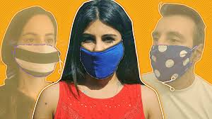 Step-by-step guide to making your own face mask - BBC News