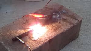 homemade arc furnace melts anything