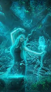fantasy witch 720x1280 wallpaper id