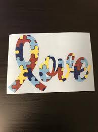 Autism Awareness Yeti Decal Love Etsy