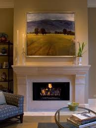 large piece over fireplace stunning