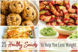 25 healthy snack ideas that can help