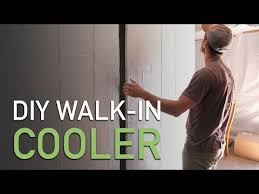 diy walk in cooler for small farms