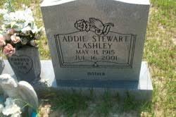 Addie Stewart Lashley (1915-2001) - Find A Grave Memorial