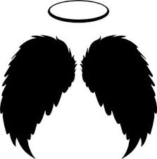 Angel Wings Vinyl Decal Sticker Halo Good Love Blessed Catholic Christian Heaven Ebay