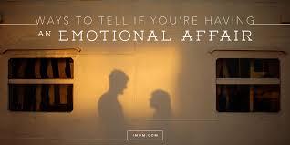 re having an emotional affair