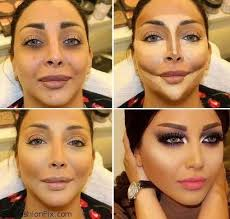 how to highlight and contour your face
