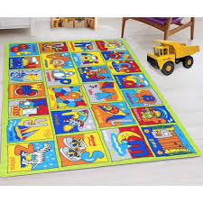 Kids Rugs For Playroom Bedroom 8x10 Boys Girls Children S Room Decor Fun Abc Alphabet Interactive Gift For Kids Boys Girls Educational Learning Mat Rug Carpet For Nursery Decor School Playroom Walmart Com
