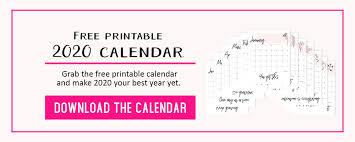 printable calendar motivational quotes