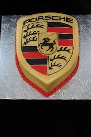 Porsche Logo Cake Cars Kuchen Manner Kuchen Papa Geburtstagstorten