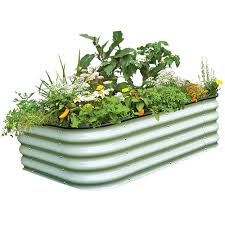 6 in 1 small raised garden bed