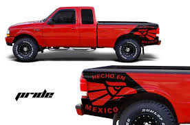 Ford Ranger 1998 2000 Custom Vinyl Decal Wrap Kit Pride Factory Crafts