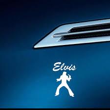 Yjzt 8 9cm 12 9cm Elvis Presley Vinyl Car Sticker Funny Decal Black Silver C3 0013 Car Stickers Aliexpress