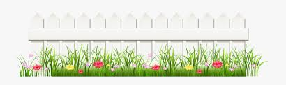 Transparent White Fence With Grass Png Clipart Free Transparent Clipart Clipartkey