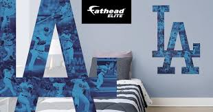 The Dodgers Fathead Elite Wall Decal Is Los Angeles Dodgers Facebook