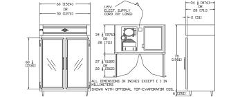 glass door specification sharp