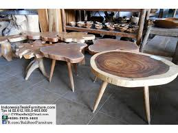 balinese wood coffee table