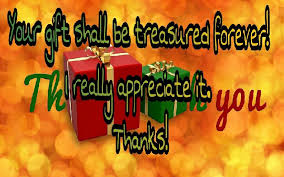 thank you messages for receiving gift quotes to thanks for gift
