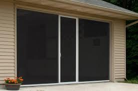 fiberglass screen with center door