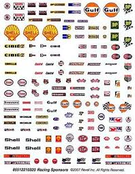 Amazon Com Revell Slot Car Sponsor Decal Set 1 32 Scale Toys Games