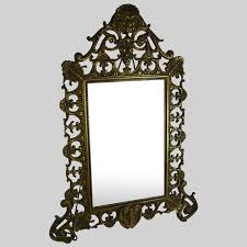antique victorian vanity mirror gilt