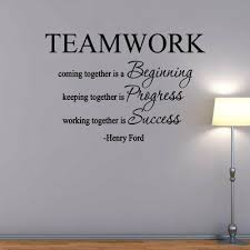 Winston Porter Teamwork Coming Together Is A Beginning Henry Vinyl Wall Decal Vinyl Wall Decals Name Wall Decals Wall Decals
