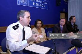 Superintendent Rod Jarman, officer for Southwark, Althea Smith,... News  Photo - Getty Images