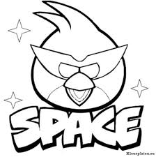 Angry Birds Space Kleurplaten Kleurplaten Eu