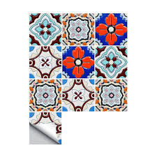 15 15cm 20 20cm Self Adhesive Wallpaper Furniture Kitchen Pvc Waterproof Turkish Tiles Diy Tile Sticker Wall Decal Wall Stickers Aliexpress