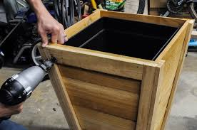 Diy Cedar Planter Box Tutorial Juggling Act Mama