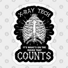 Skeleton Skeletal System Radiologist Radtech Gift X Ray Tech Rad Tech Sticker Teepublic