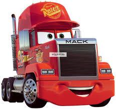 9 Inch Mack Truck Team Mcqueen Rig Wall Buy Online In Saint Lucia At Desertcart