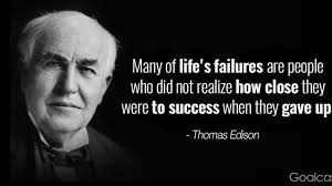 Top 20 Thomas Edison Quotes to Motivate You to Never Quit | Goalcast