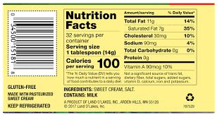 er nutrition facts nutritionwalls