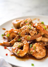 Asian Chilli Garlic Prawns (Shrimp ...