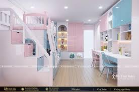 Mẫu giường tầng đẹp dành cho bé trai và bé gái - BBP51