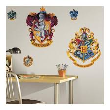 Harry Potter Hogwarts And Gryffindor Peel And Stick Giant Wall Decals