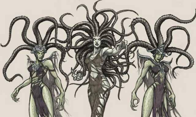 The three Gorgon Sisters