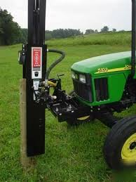 Post Driver Com By Shaver Hd8 Hd 8 H D Pounder 10 Hole Small Tractors Tractor Idea Tractor Accessories
