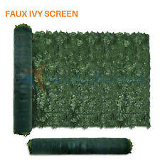 6x10 Artificial Faux Ivy Leaf Fence Screen Windscreen Roll Privacy Shade Cover For Sale Online Ebay