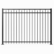 China Top Quality Pvc Vinyl Picket Fence China Handrail Fence