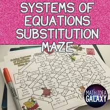 substitution activity by idea galaxy