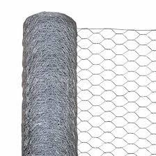 Wire Mesh Hexagonal Garden Netting Roll 10 Metres X 600 Mm High