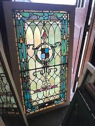 sg 2603 antiquestained glass landing