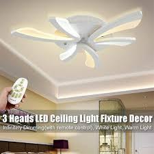 acrylic modern led ceiling light lamp